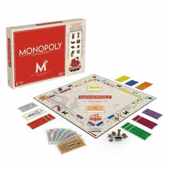 Jeu de société Monopoly Vintage 80 ans