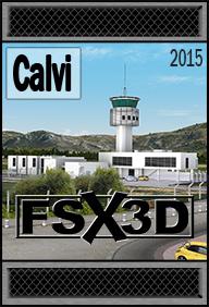 Addon Flight Simulator X / Prepar3D - FSX3D Calvi aéroport St-Catherine LFKC Gratuit (Dématérialisé - Simmarket.com)