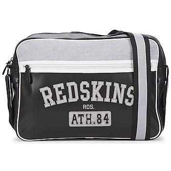 Besace Redskins A4 - Noir/Blanc/Gris