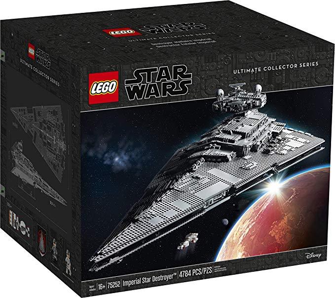 Jeu de construction Lego Star Wars : Imperial Star Destroyer n°75252