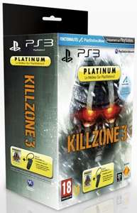 Pack Oreillette officielle Sony sans fil PS3 + Killzone 3