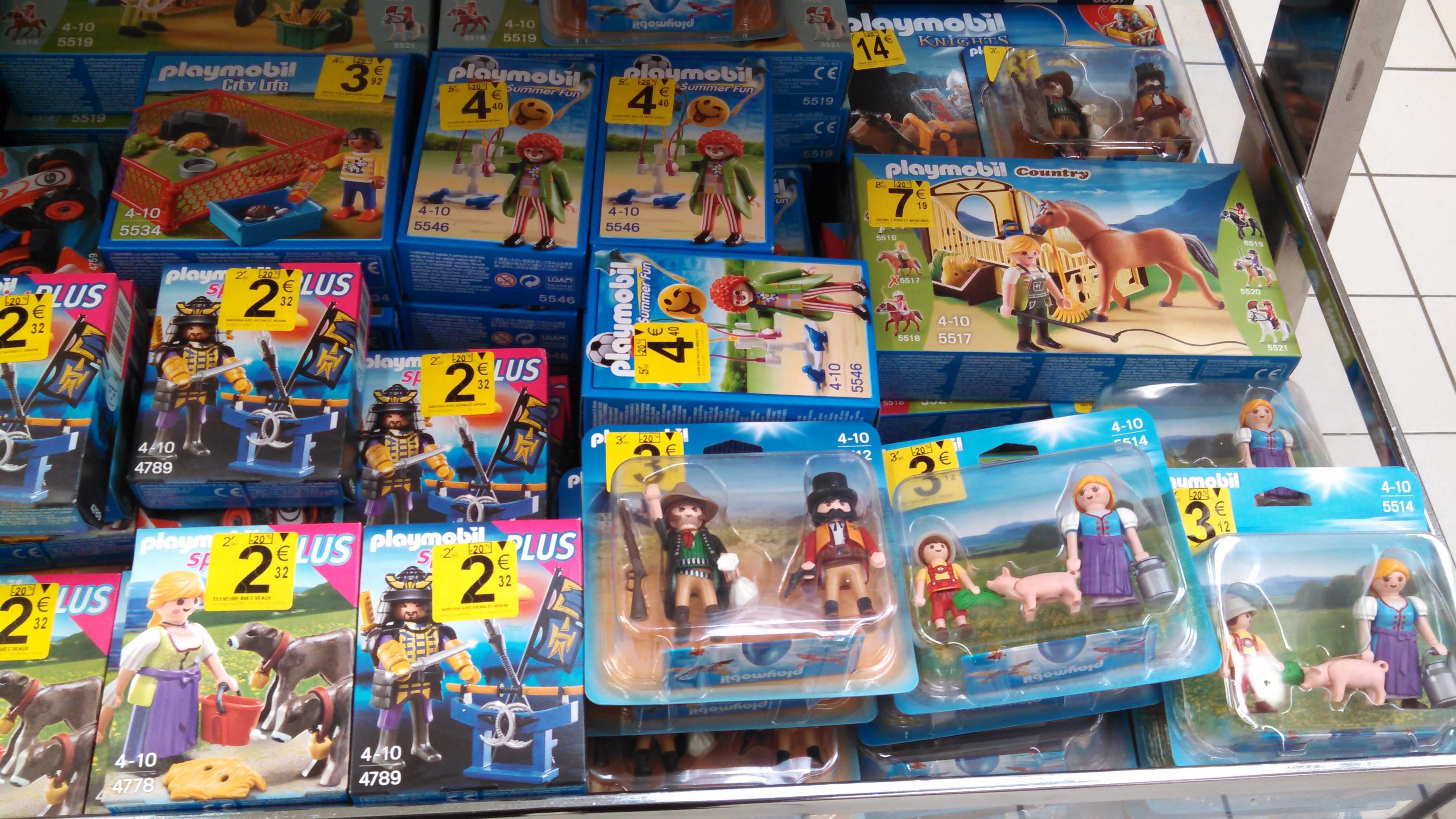 20% de réduction sur une sélection de Playmobil
