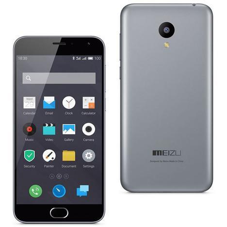 """Smartphone 5"""" Meizu M2 16Go - Gris (Via ODR 30€)"""