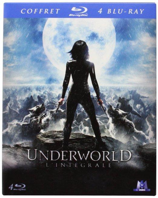 Coffret 4 Blu-ray  Underworld : L'intégrale