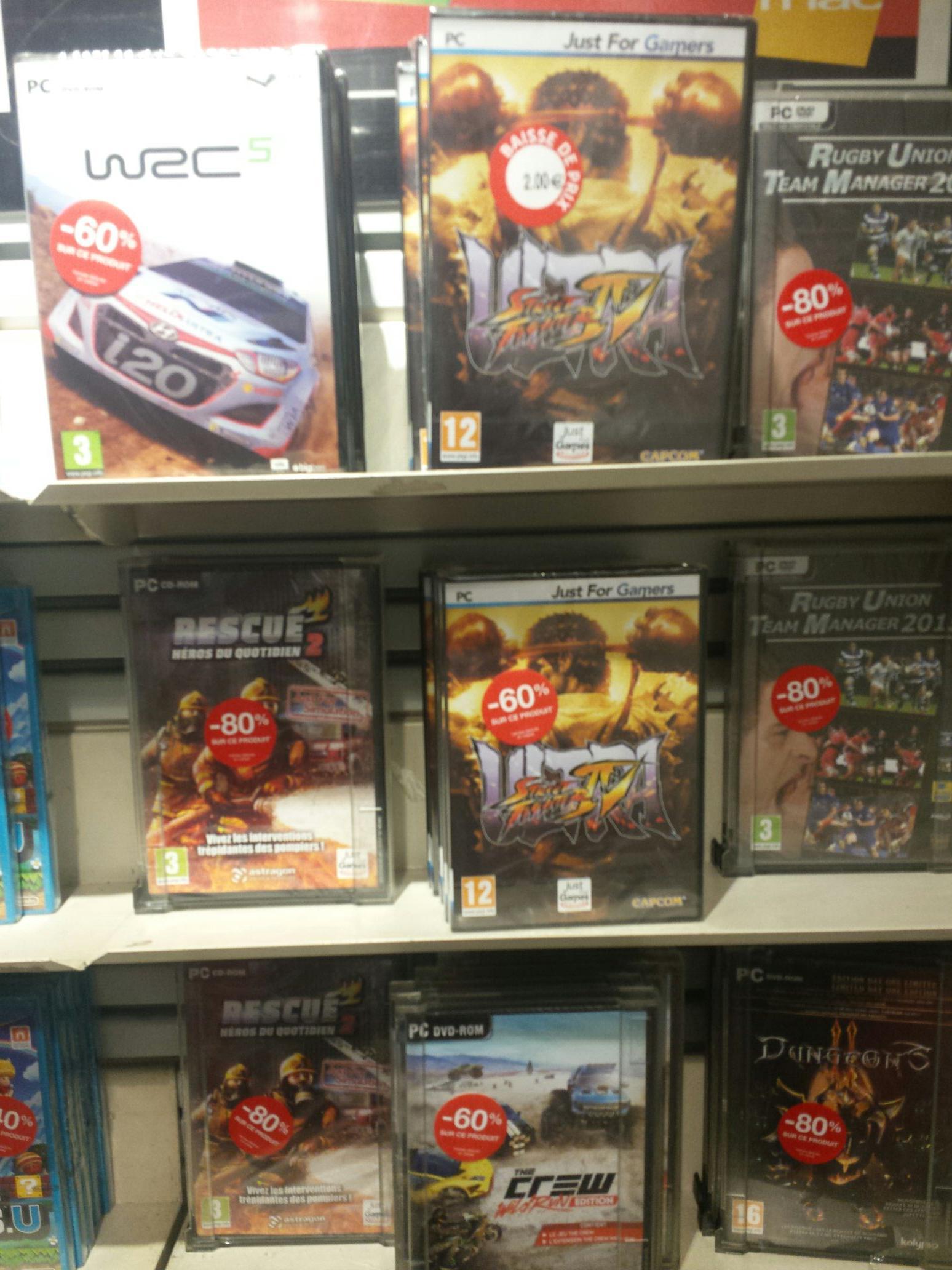 Sélection de jeux en promo - Ex : Ultra Street Fighter 4 sur PC