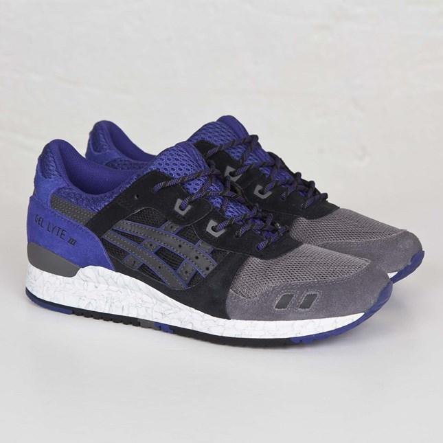 "Chaussures Asics Gel Lyte 3 modèle Black Purple ""High Voltage Pack"""