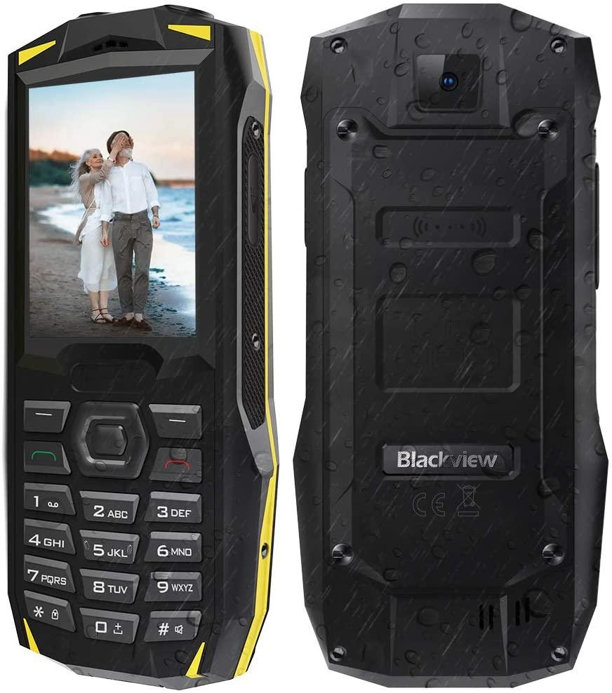 """Téléphone portable robuste 2,4"""" Blackview BV1000 - P68, 3000mAh (vendeur tiers)"""