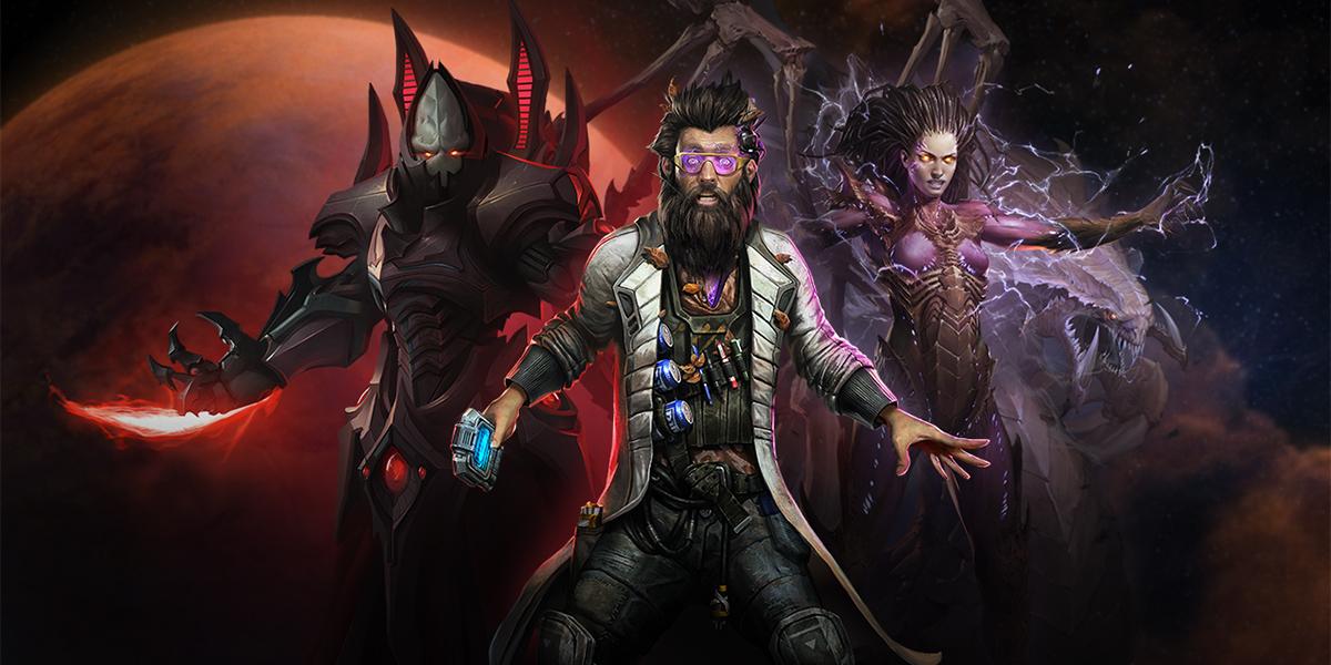 Commandeurs Gratuits sur Starcraft 2 (Dématérialisé)