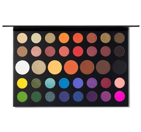 Sélection de palettes de maquillages en promotion- Ex : Palette James Charles (morphe.com)