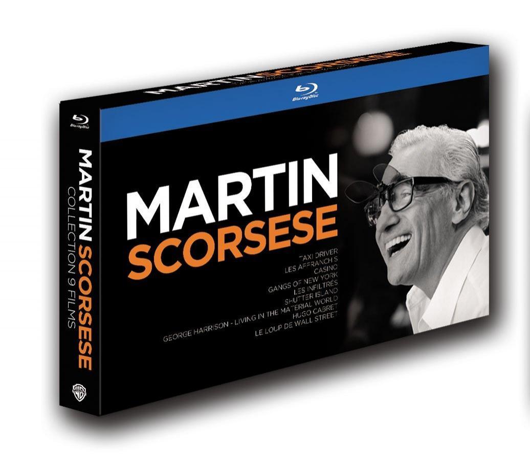 Coffret Blu-ray : Martin Scorsese - Collection - Édition Limitée