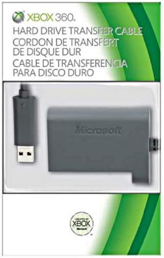 Câble de transfert pour disque dur Xbox 360