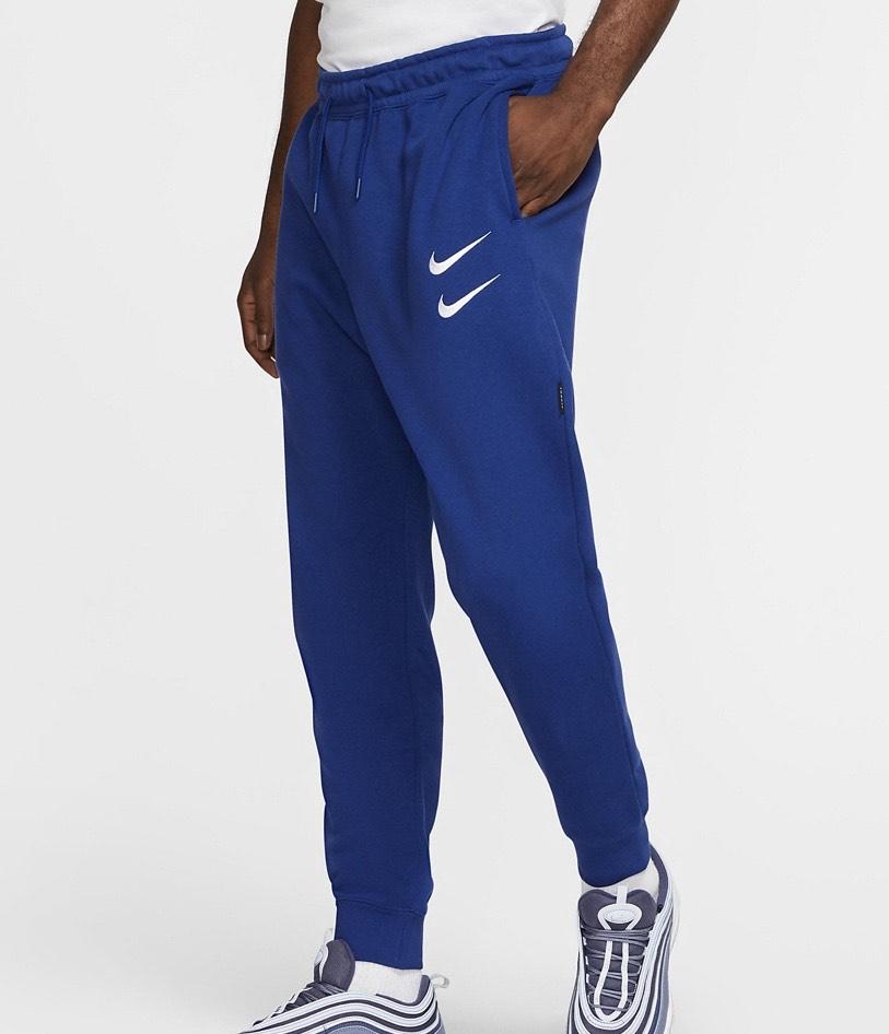 Bas de survêtement Nike Sportswear Swoosh - Bleu, Vert ou Orange