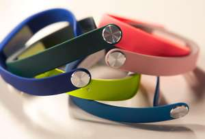 Pack 3 bracelets pour SmartBand SWR10 Vert/Rose/Blanc, Taille S
