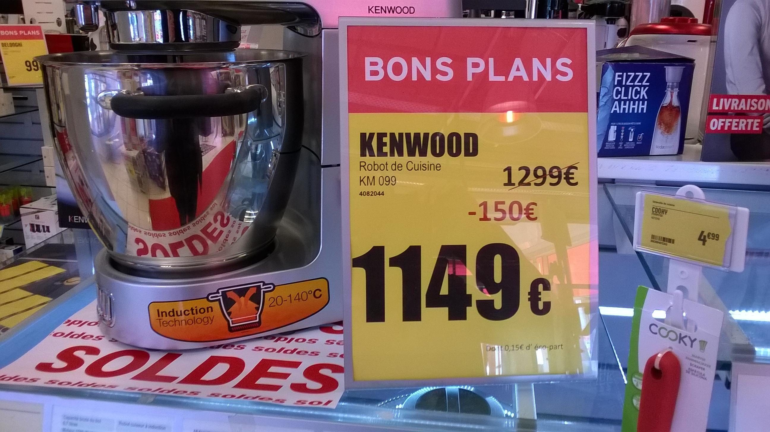 Robot cuiseur/pâtissier/multifonction Kenwood KM099