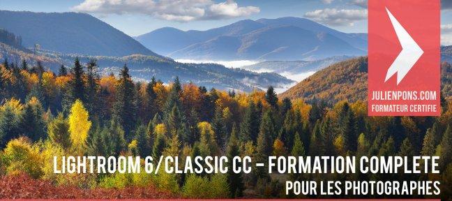Formation complète en ligne à Adobe Lightroom Classic par Julien Pons (Dématérialisé)