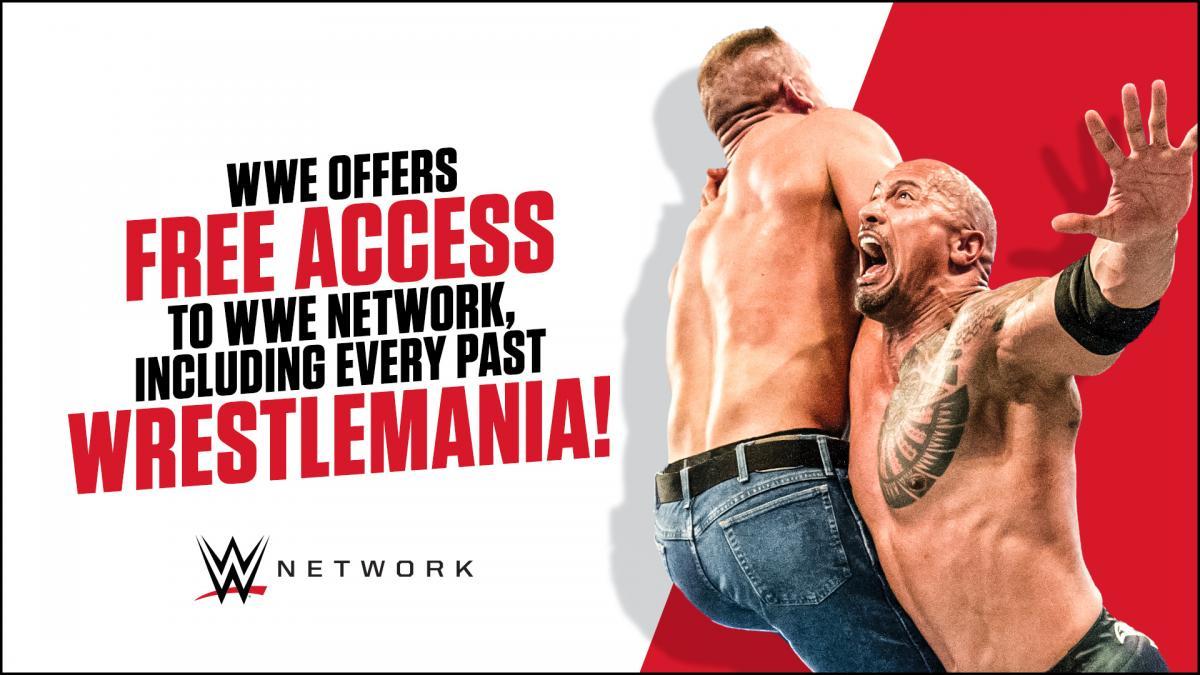 WWE Network et tout son contenu gratuits (sauf exception)