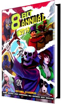 Magazines numériques 8-Bit Annual 2018 & 8-Bit Annual 2019 gratuits (dématérialisés, en anglais) - EightBitMagazine.com