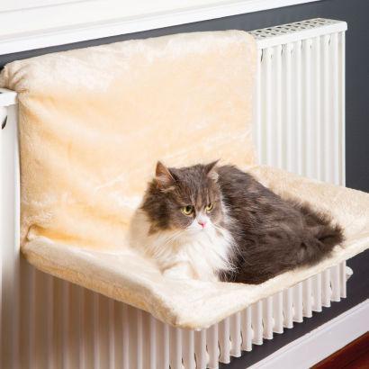 Hamac pour chat à poser sur le radiateur