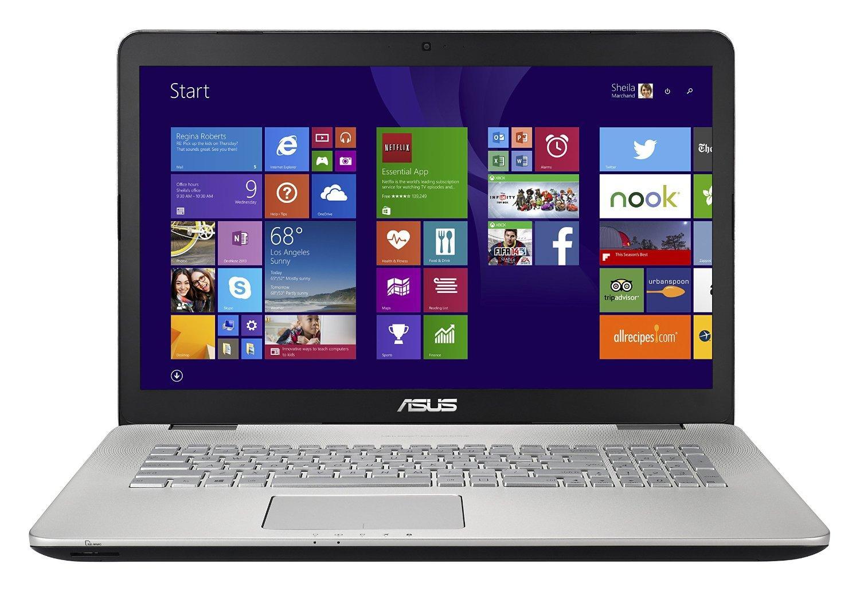 PC Portable Asus N751JX-T4180T - Intel i7-4720HQ, 8 Go de Ram, 1To + 128 Go SSD, Geforce GTX 950M
