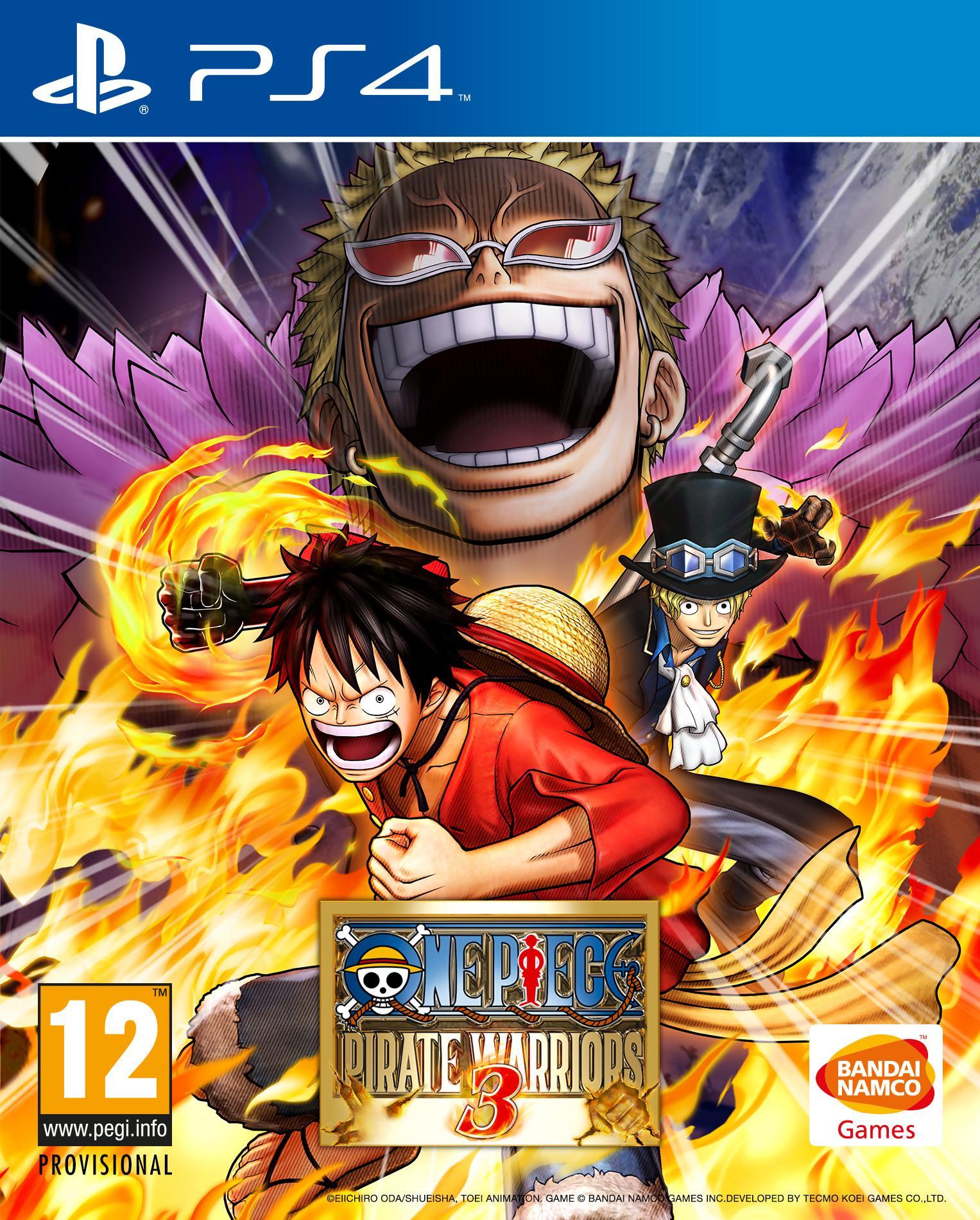 One Piece Pirate Warrior 3: Gold édition sur PS4 (Dématérialisé)