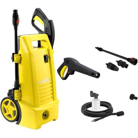 Nettoyeur haute pression Lavor Ninja 150 - 150 bars, 2100W, Débit : 450L/h, buse variojet, buse turbo, réservoir à détergent