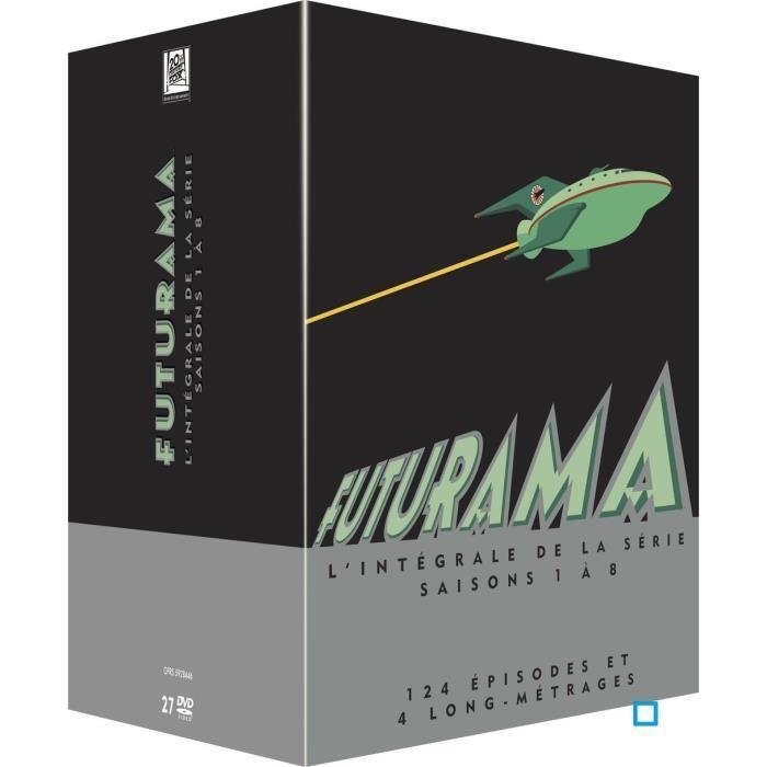 Futurama L'intégrale de la série Saison 1-8 + 4 longs-métrages