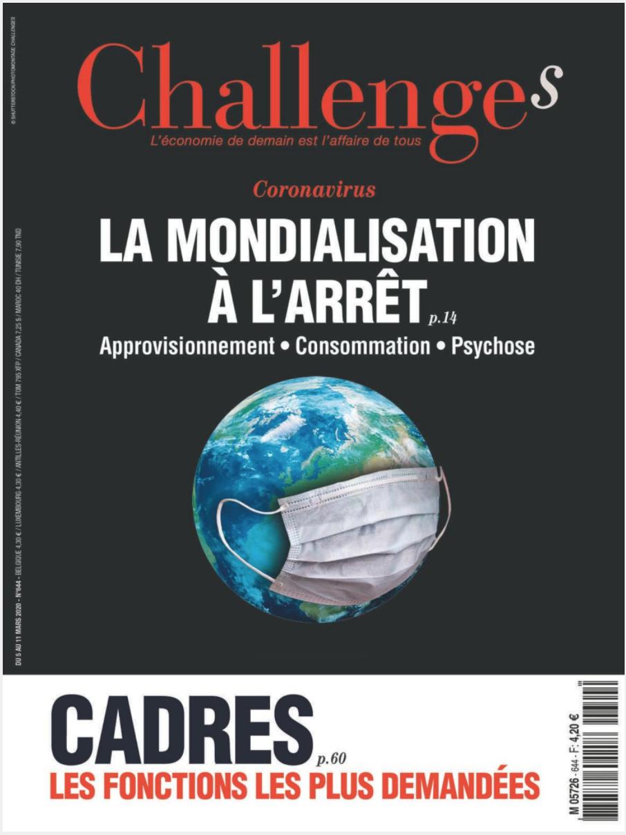 Magazine numérique Challenges gratuit pendant 2 mois (Dématérialisé, Sans engagement)