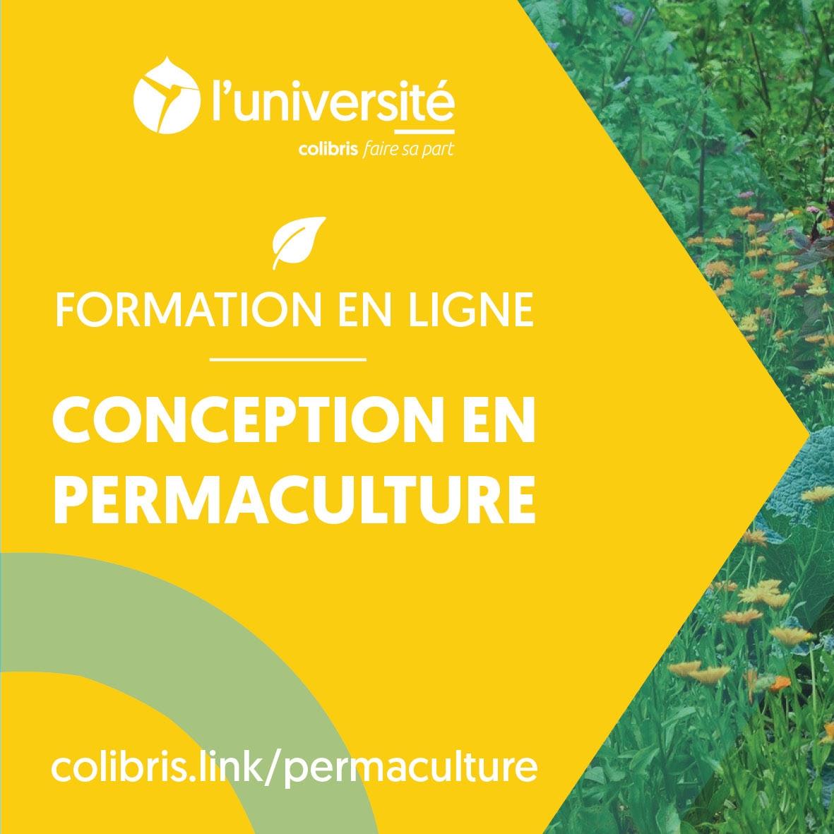 Formation en ligne gratuite MOOC Conception en Permaculture - Colibris-Université.org