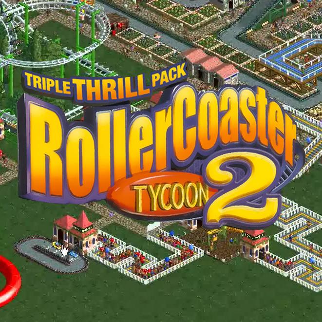 RollerCoaster Tycoon 2 Triple Thrill Pack: Le jeu + ses 2 extensions sur PC (Dématérialisé - Steam)