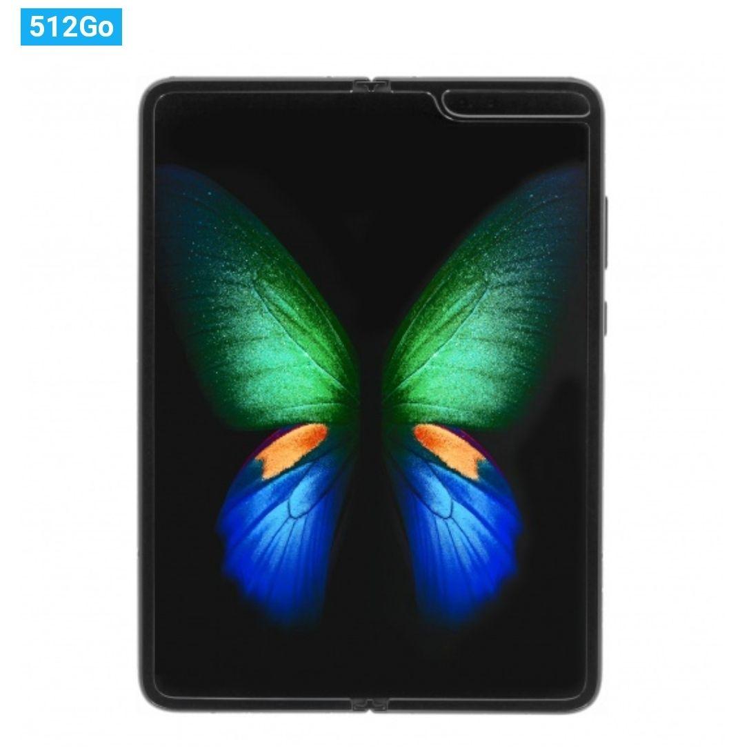 """Smartphone pliable 7.3"""" Samsung Galaxy Fold 5G (F907B) - Full HD, SnapDragon 855, 12 Go RAM, 512 Go"""
