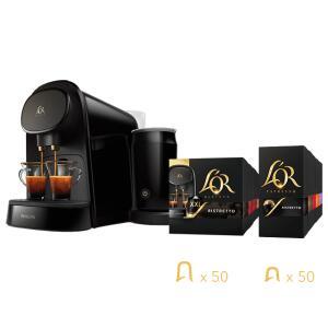 Machine à café Philips L'OR Barista (3 coloris) + 200 capsules