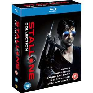 The Sylvester Stallone Collection Blu-Ray 5 films
