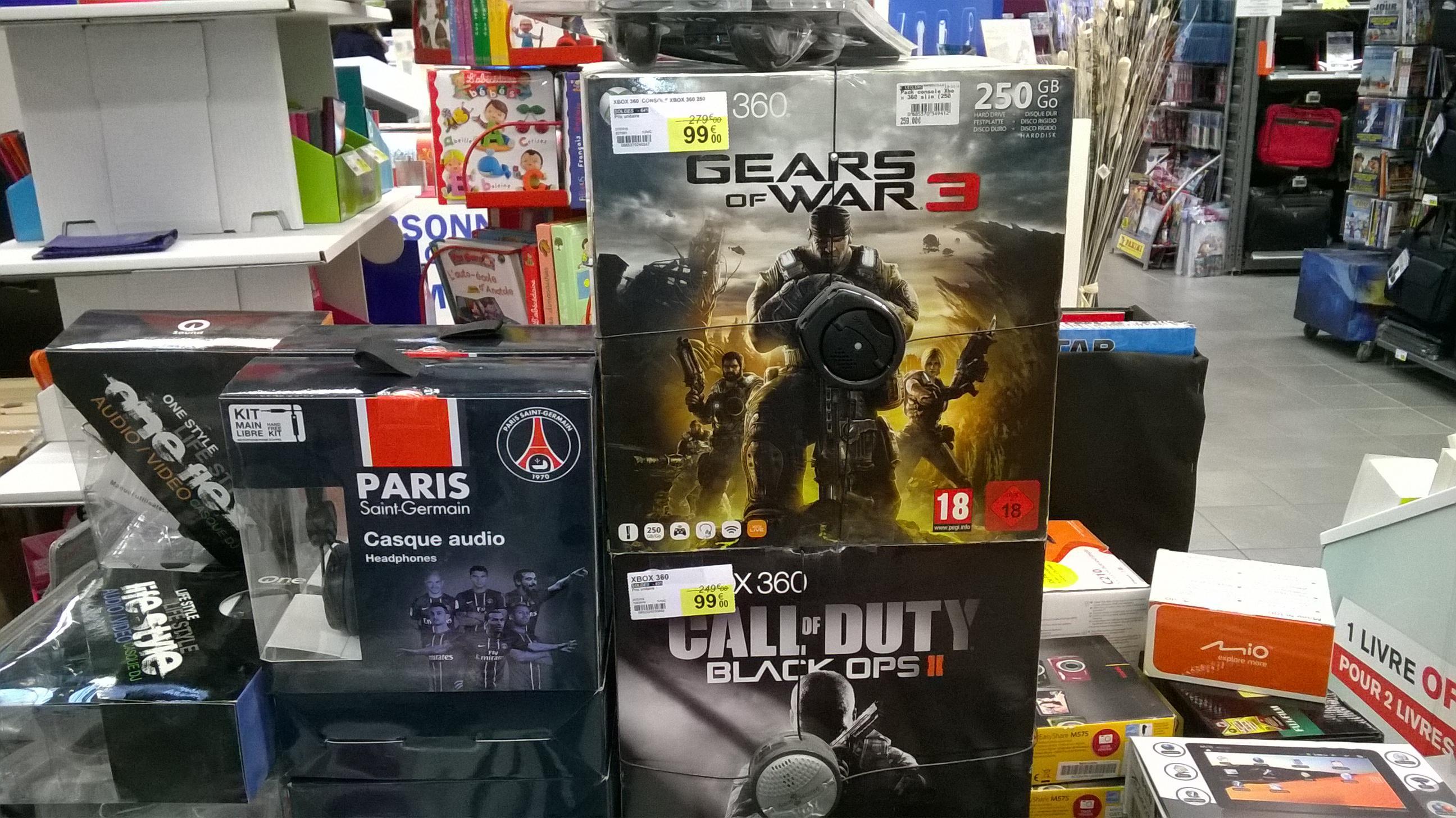 Divers packs console Xbox 360 ou PS3