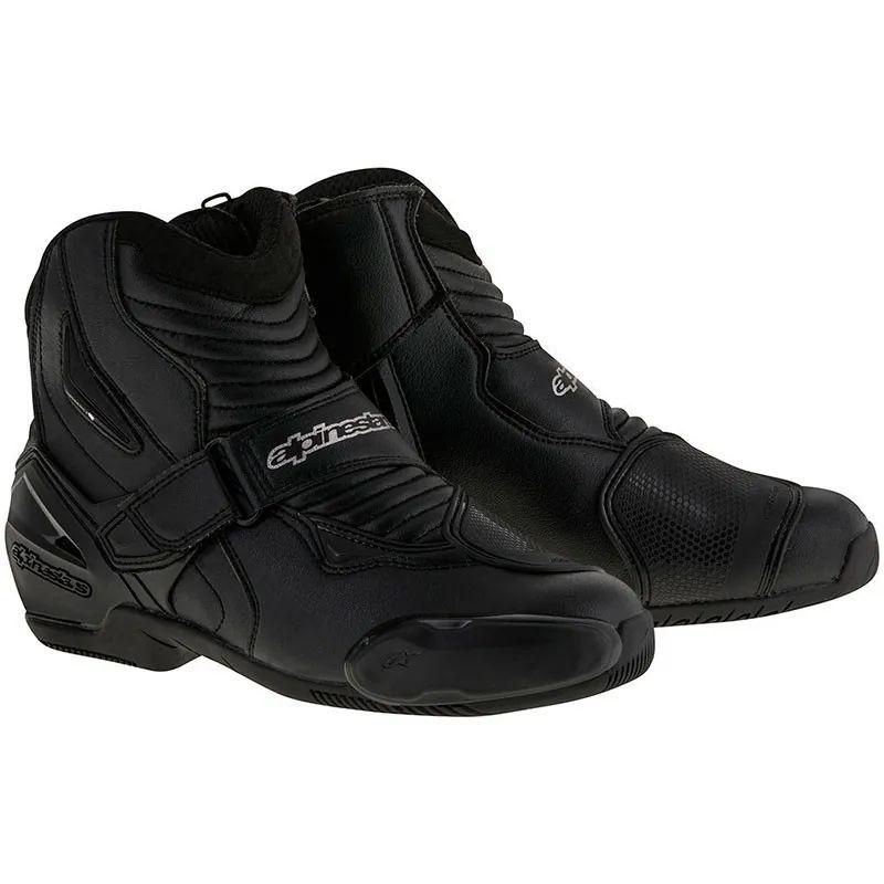Paire de chaussures de moto Alpinestar SMX-1 (martimotos.com)
