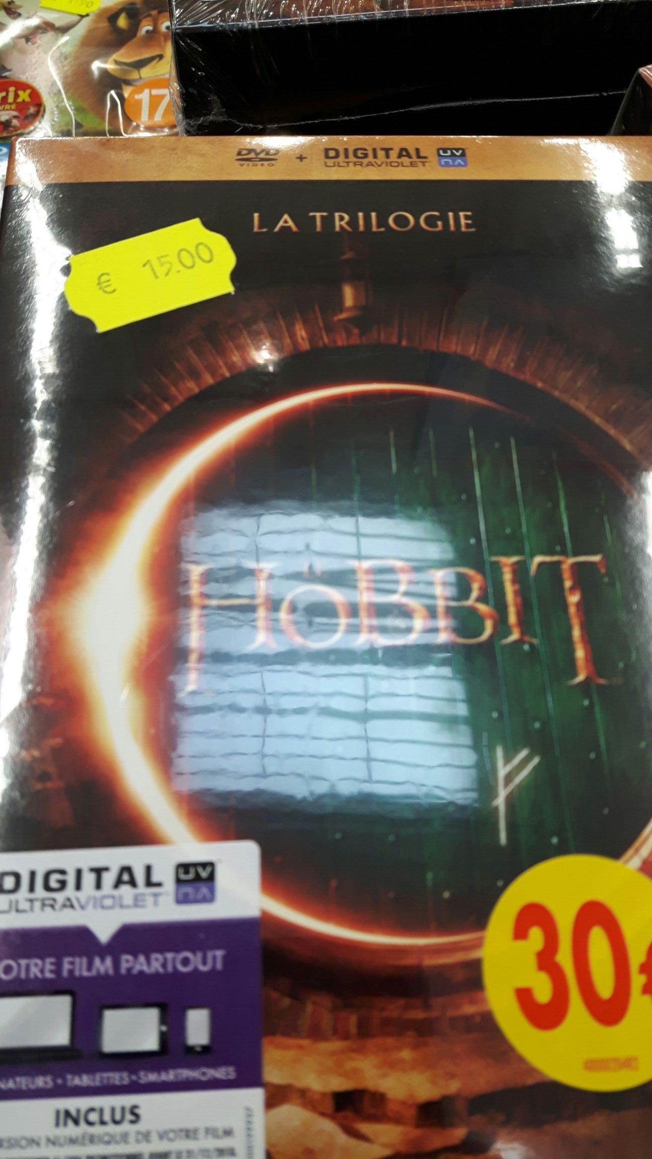 Coffret DVD Trilogie Le Hobbit
