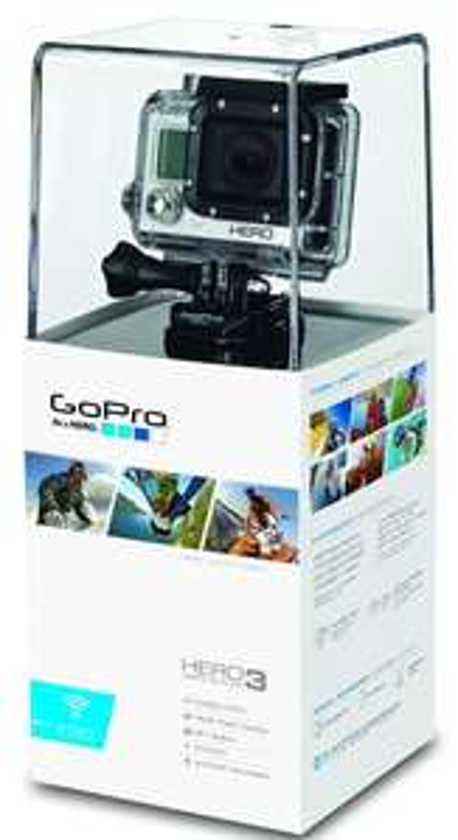 GoPro HERO3 White Edition Caméscope HD 5 Mpix Wi-Fi intégré