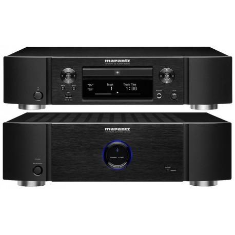 Lecteur Hi-Fi réseau et CD Marantz ND8006 + Ampli MM7025