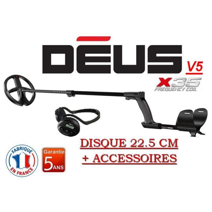 Détecteur Deus Lite WS4 - disque 22.5 X35 (david-detection.com)