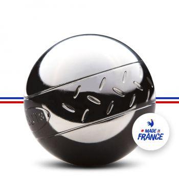 Jeu de 3 Boules de Pétanque Initiation Chevron pour Enfants + Trousse + But Gravé Obut (obut.com)