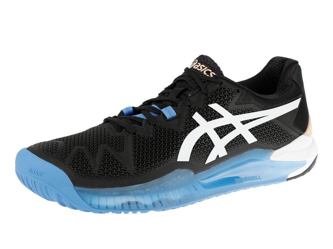 Chaussures de Tennis Terre Battue Asics Gel-Resolution 8 Clay pour Hommes- Tailles au choix