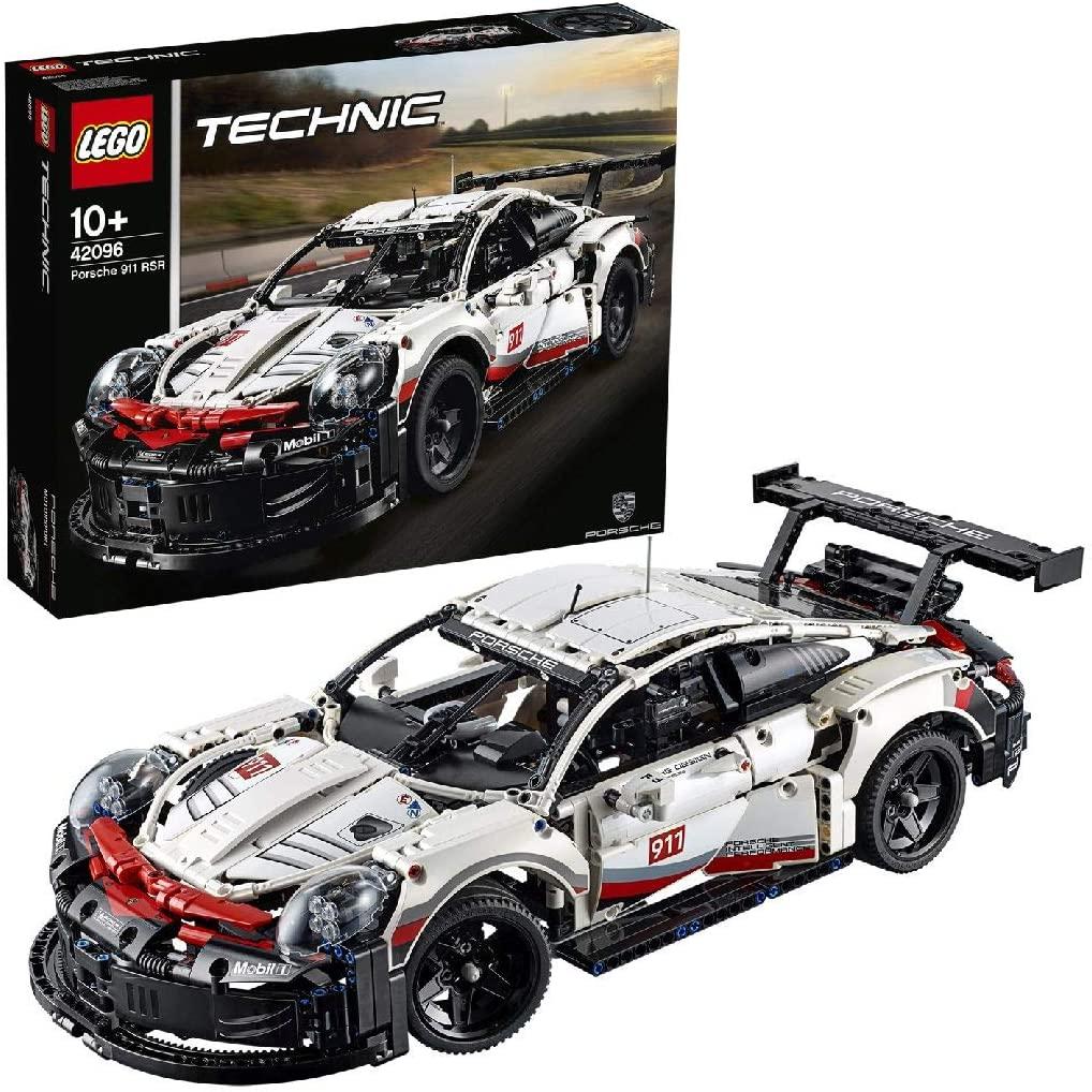Sélection de produits Lego en promotion via remise fidélité - Ex : LEGO Technic 42096 Porsche 911 RSR - 1580 pièces (via 30€ sur la carte)