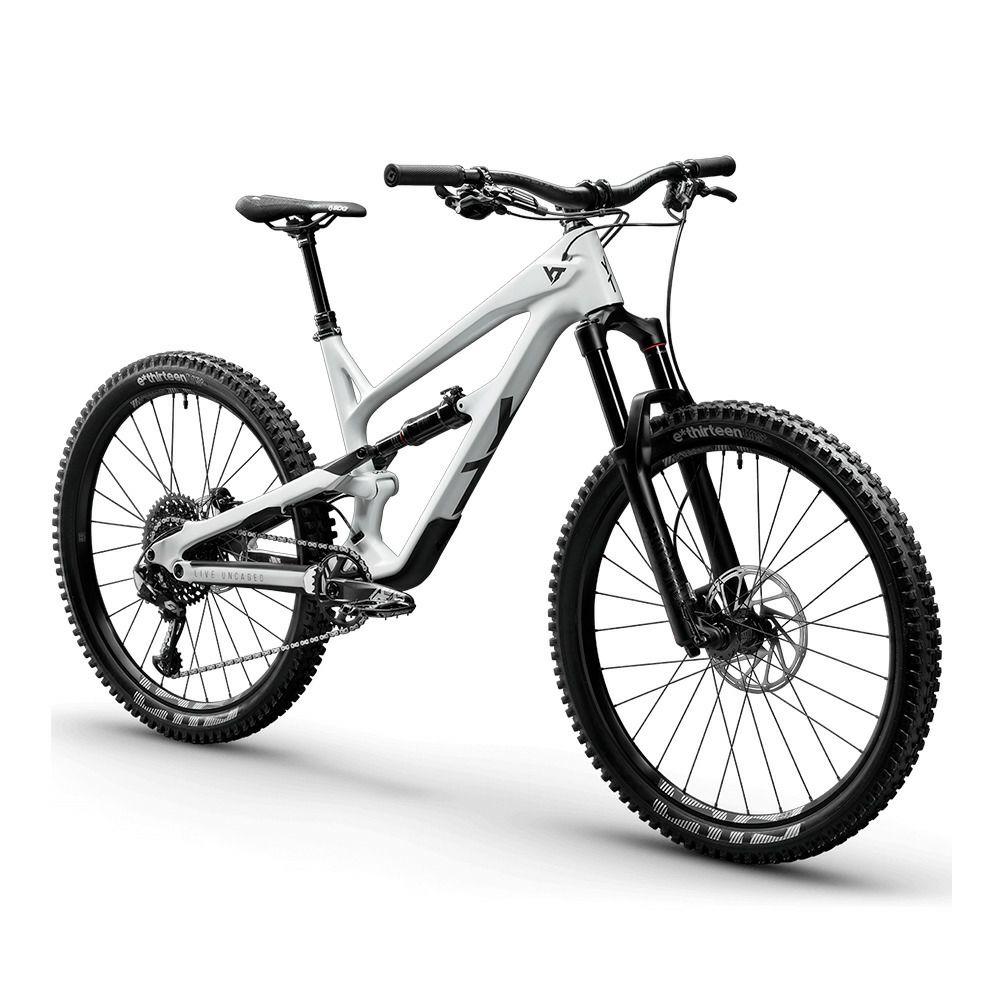Vélo all-mountain YT Industries Jeffsy 27 CF Pro - Magnesium white/black magic, Tailles L à XXL