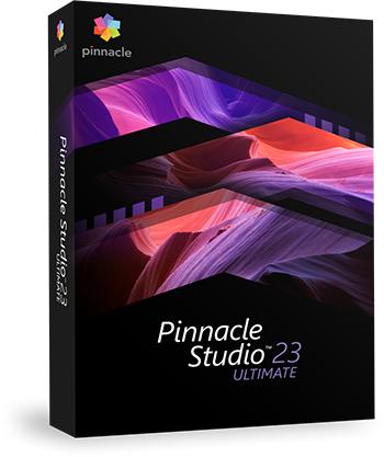 Mise à jour du Logiciel Pinnacle Studi 23 Ultimate + NewBlue Art Blends offert (Dématérialisé - Pinnaclesys.com)