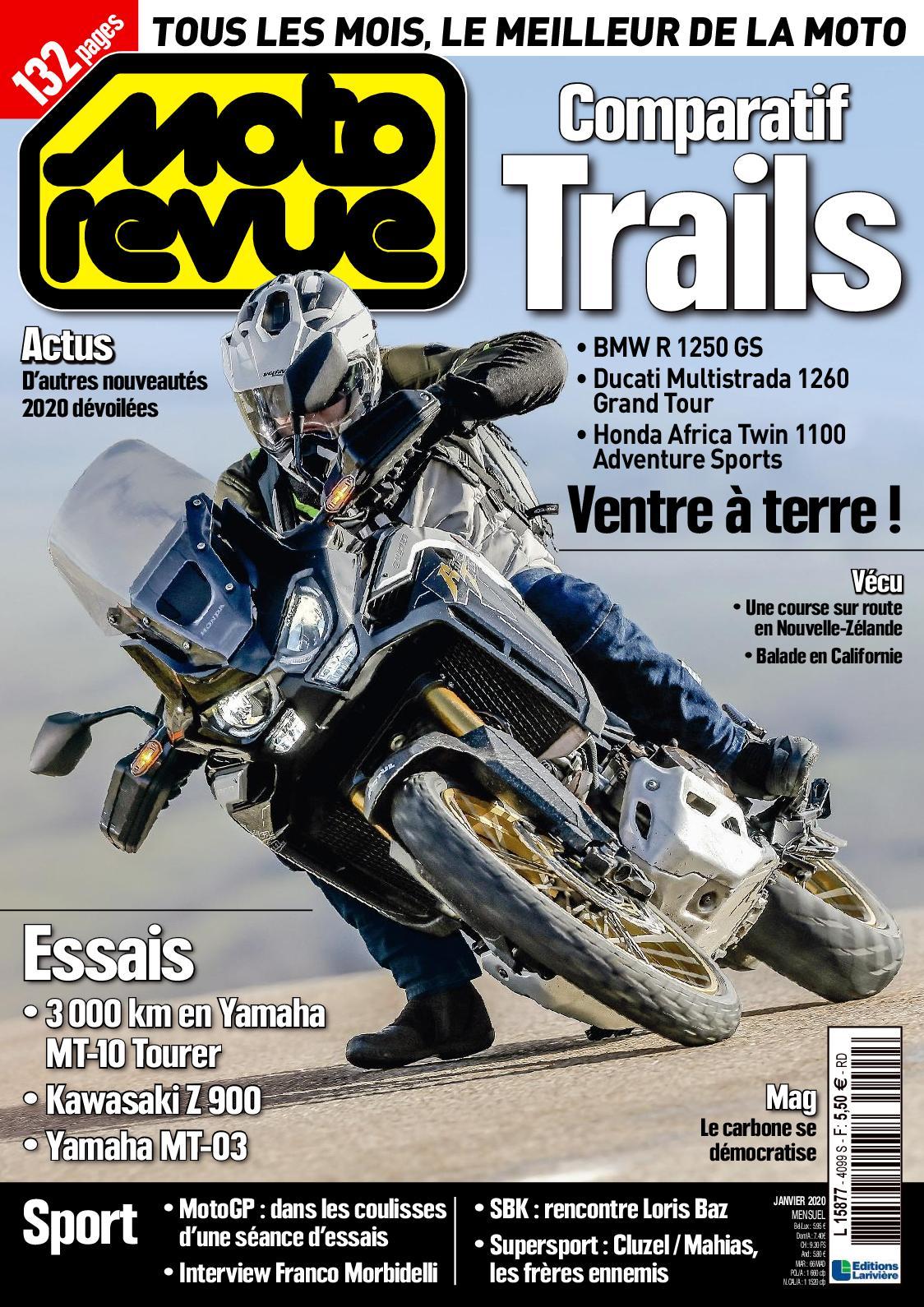 Accès gratuit au Magazine Moto Revue N°4099 et 4092 (Dématérialisé)