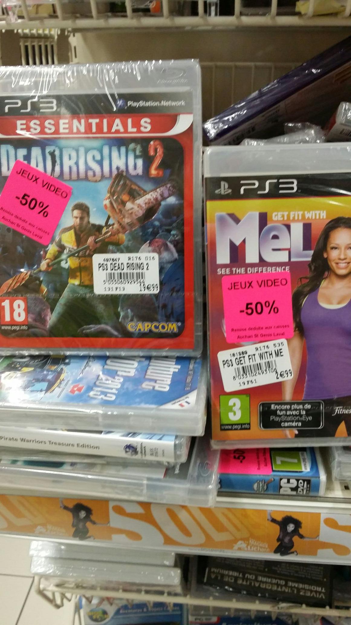 Sélection de jeux video à 50% de réduction - Ex : Jeu Dead Rising 2 sur PS3