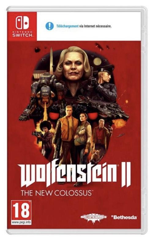 Jeu Wolfenstein II : The New Colossus sur Nintendo Switch