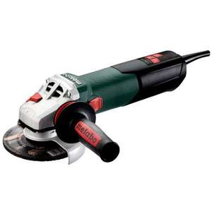 Meuleuse d'angle filaire Metabo W 12-125 Quick - 125 mm, 1250 W, 11 000 tr/min