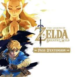 DLC The Legend of Zelda: Breath of the Wild - Expansion Pass sur Switch (dématérialisé)