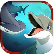 Sélection de jeux iOS gratuits (valeur totale de 9.96€) - Ex : Shark Eaters: Rise of the Dolphins