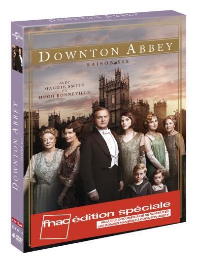 Coffret DVD : Downton Abbey Saison 6 + 10 € sur compte fidélité